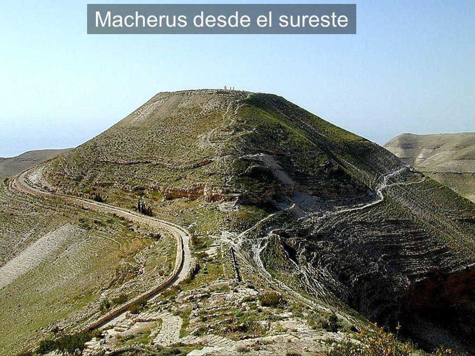 Macherus desde el sureste