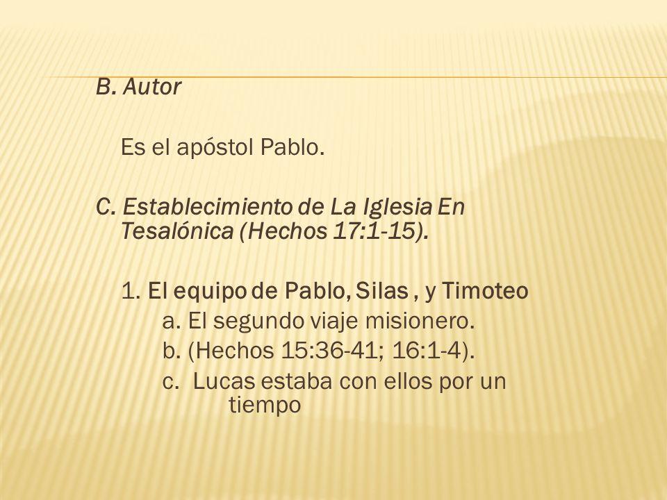 2.Predicando en la sinagoga en Tesalónica (Hechos 17:1-4).