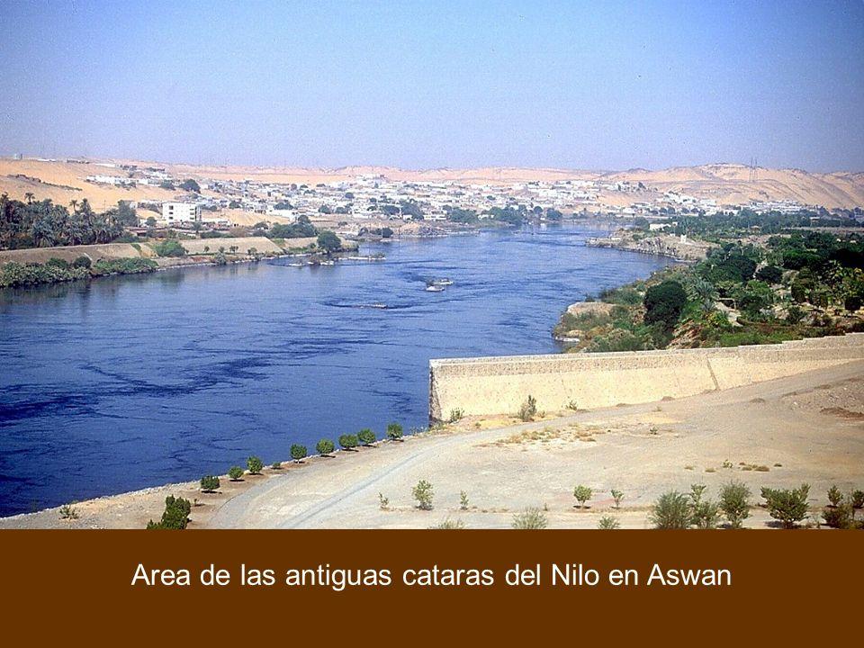 Area de las antiguas cataras del Nilo en Aswan