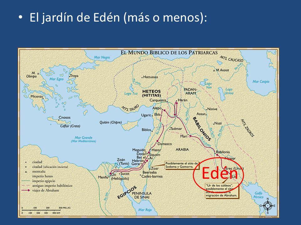 El jardín de Edén (más o menos): Edén