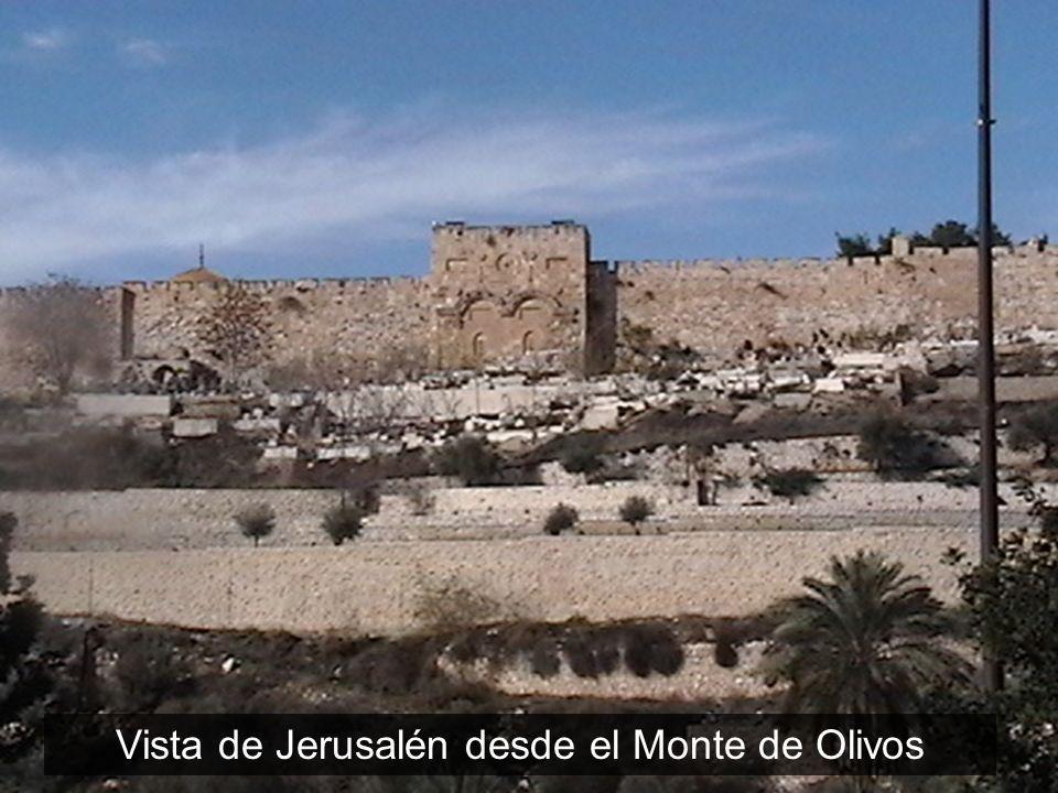 Vista de Jerusalén desde el Monte de Olivos