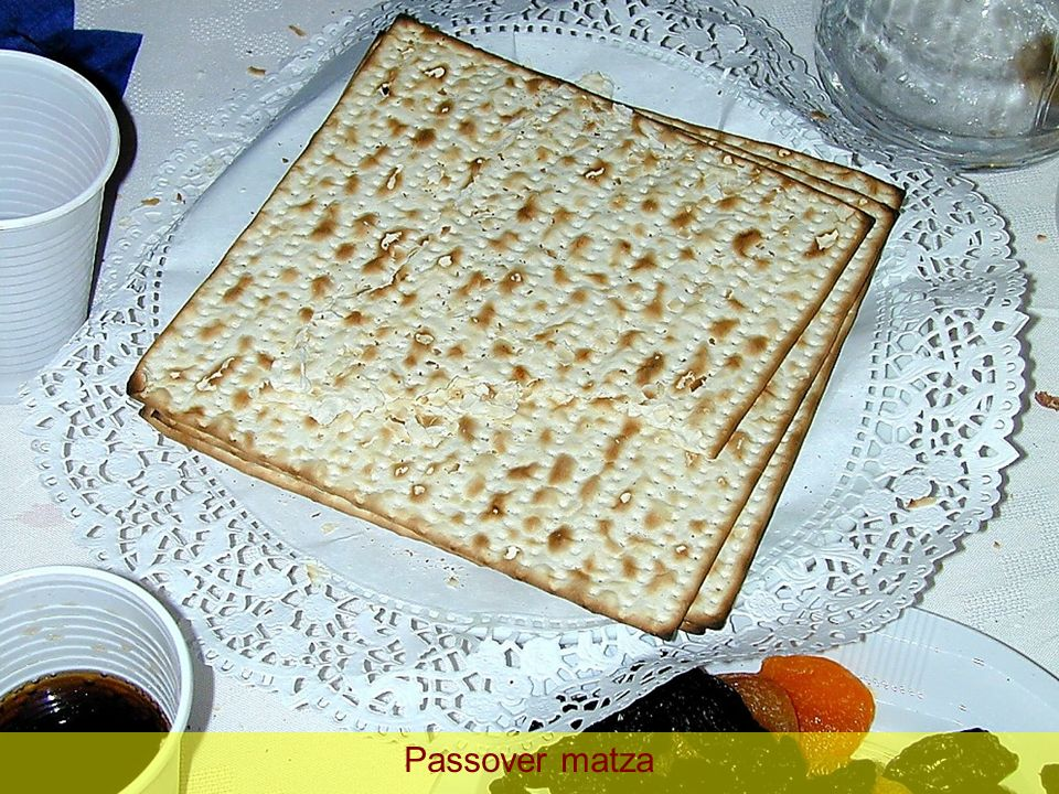 Passover matza