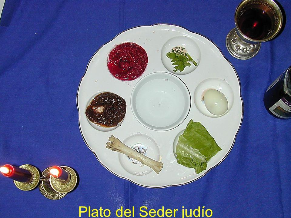 Barech Despu é s de la bendici ó n de la comida, la tercera copa, d á ndole la bienvenida a El í as.
