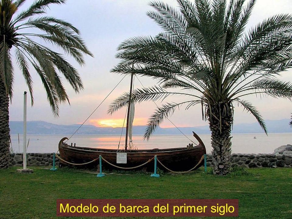 Modelo de barca del primer siglo
