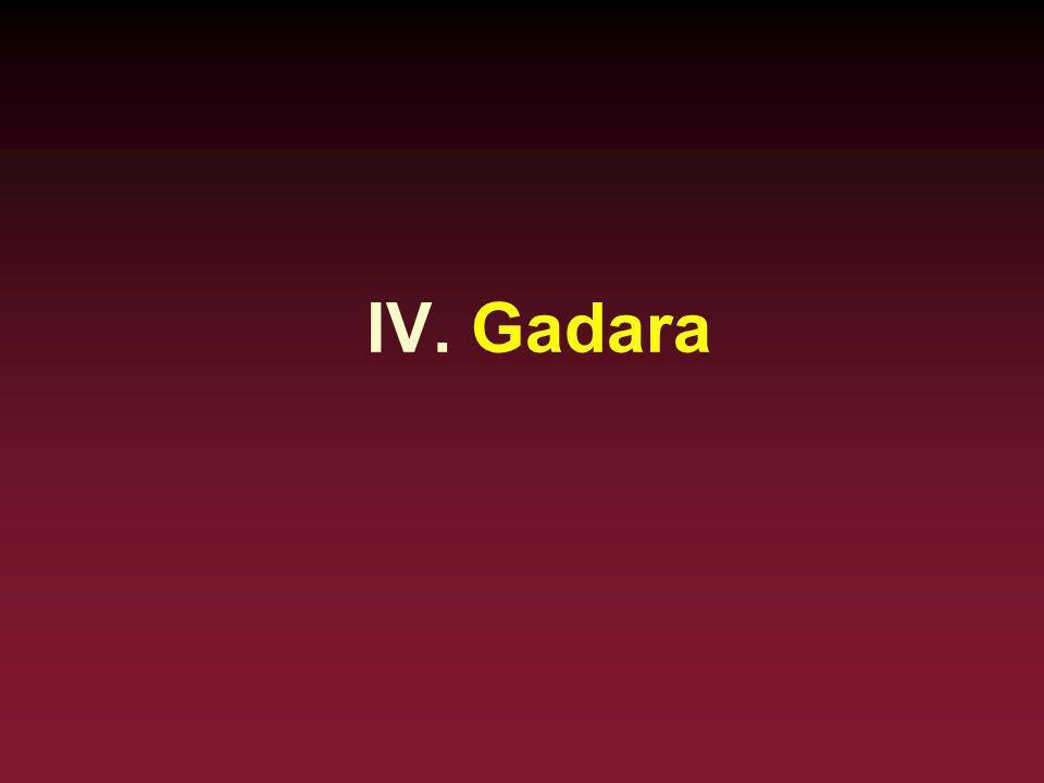 IV. Gadara
