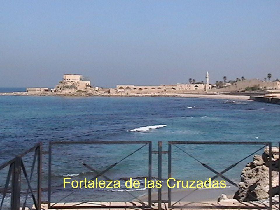 Teatro de Cesarea Fortaleza de las Cruzadas