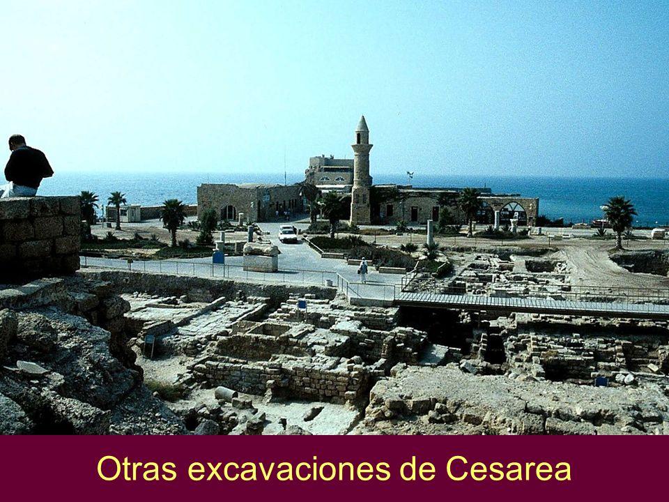 Otras excavaciones de Cesarea