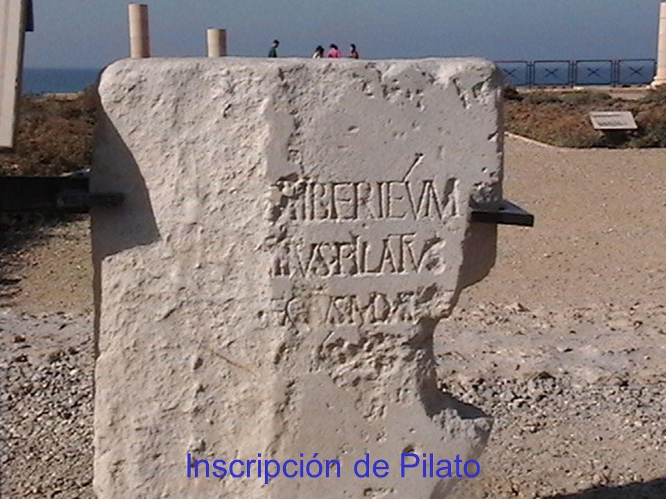 Inscripción de Pilato