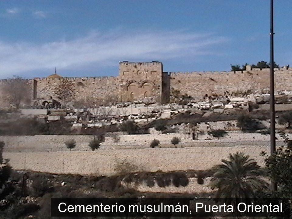 Cementerio musulmán, Puerta Oriental