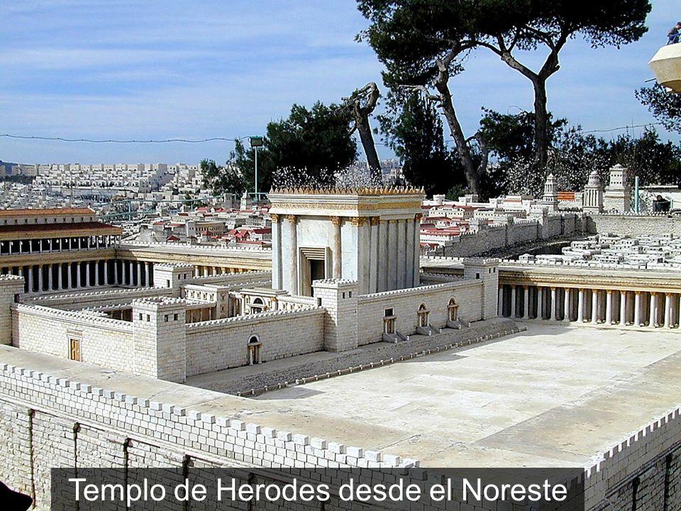 Templo de Herodes desde el Noreste