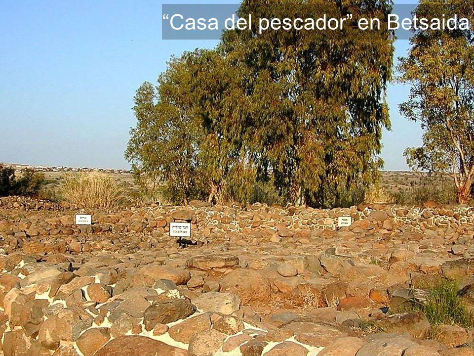Casa del pescador en Betsaida
