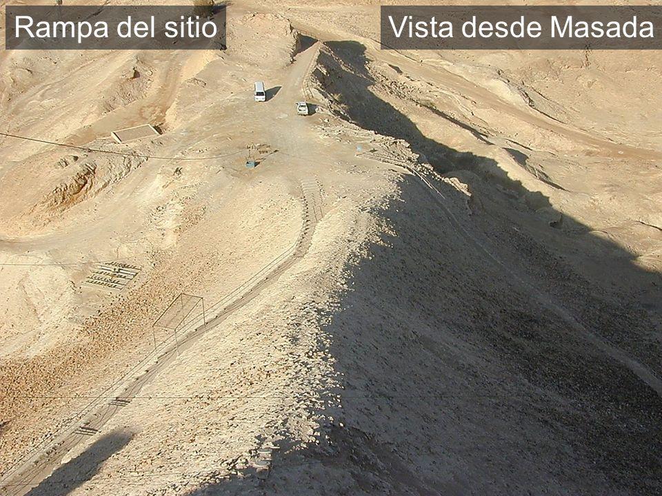 Vista desde Masada