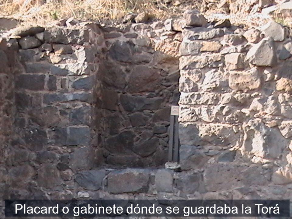 Placard o gabinete dónde se guardaba la Torá