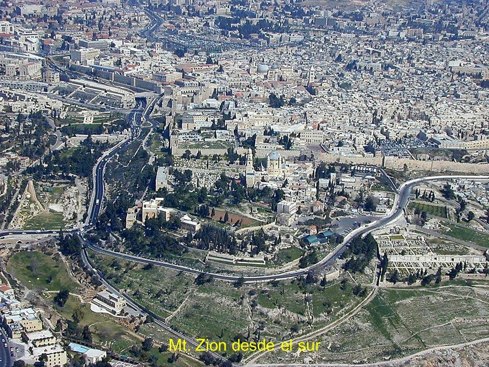 Mt. Zion desde el sur