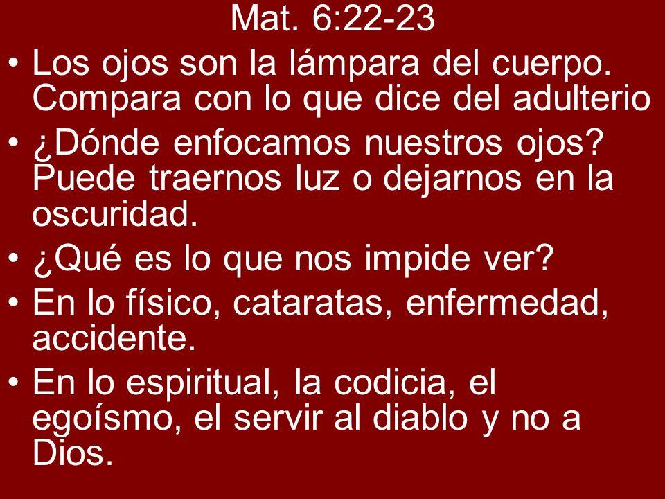 Mat.6:24, Mat.