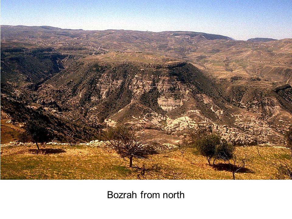Bozrah from north
