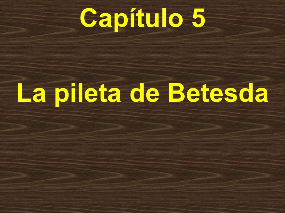 Capítulo 5 La pileta de Betesda