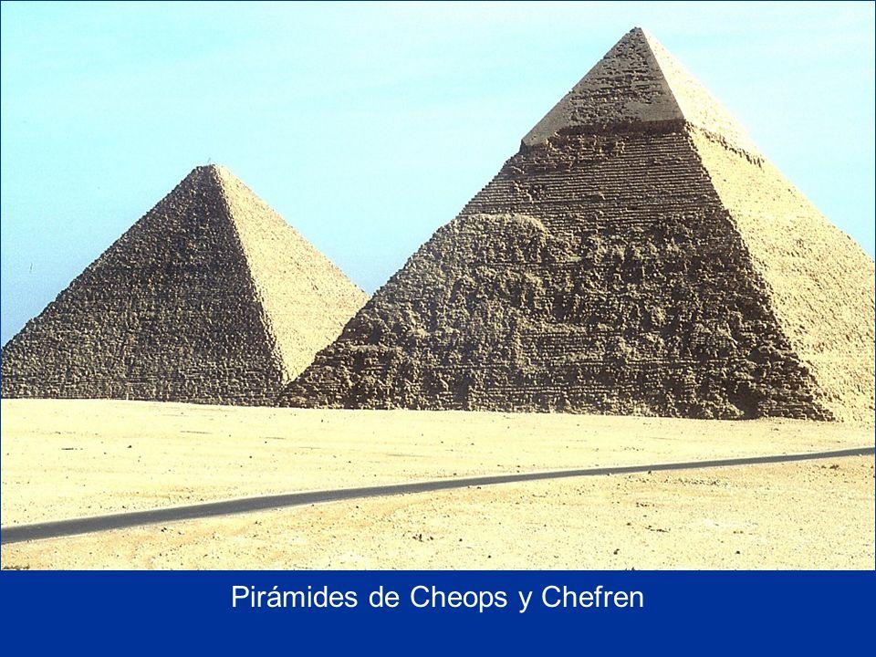 Pirámides de Cheops y Chefren