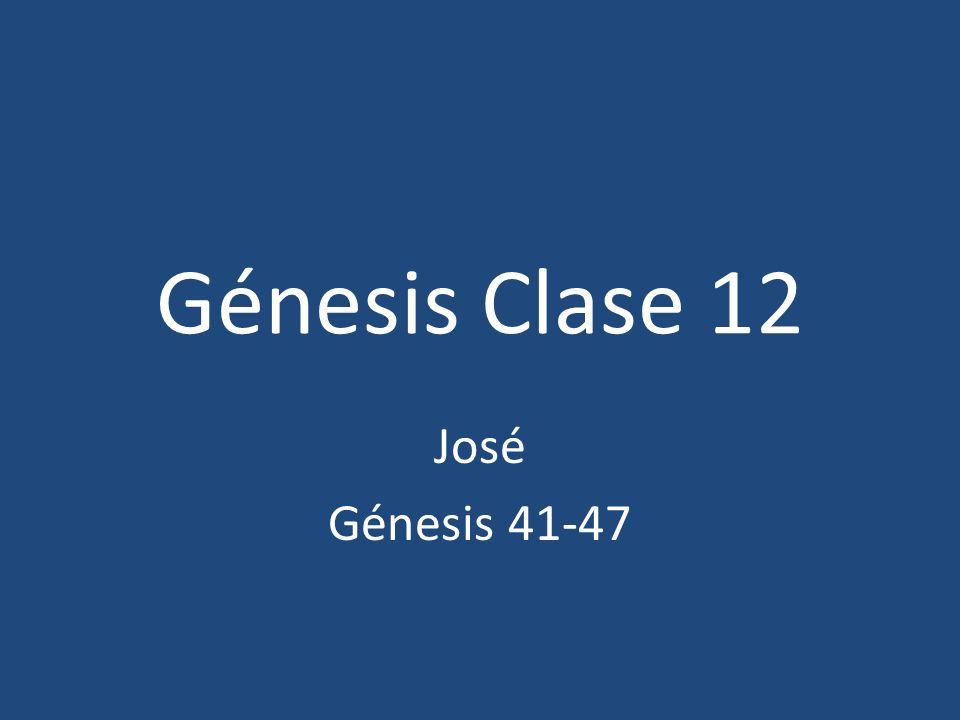 45:1- José revela su identidad 44:5, 7, 8, y 9 Dios trabajaba en la circunstancias – Dios trabaja en nuestras vidas 45:8 padre de Faraón – Aproximadamente en el año 2350 a.C.
