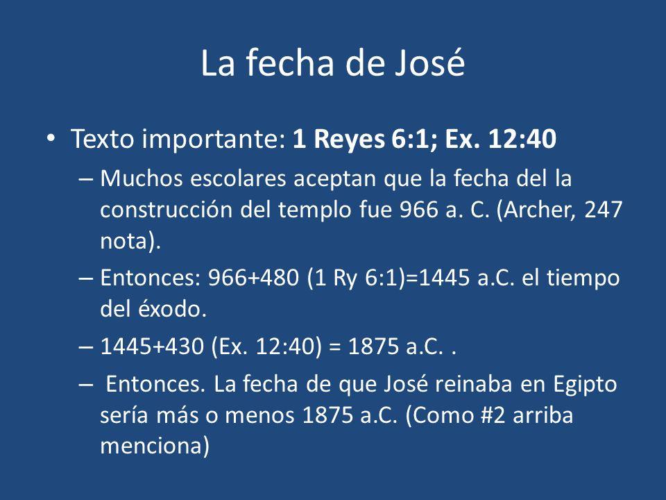 José y Faraón (41:1-57) 41:14 afeitarse y cambiarse de ropa 41:15 – No hay quien lo interprete (cp.