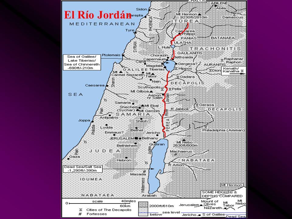 El Río Jordán
