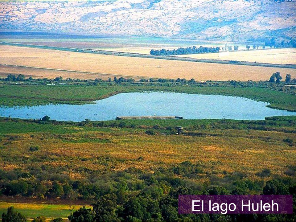 El lago Huleh