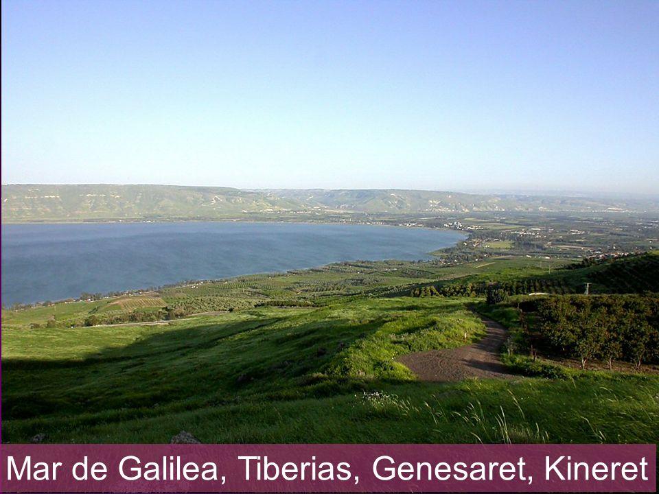 Mar de Galilea, Tiberias, Genesaret, Kineret