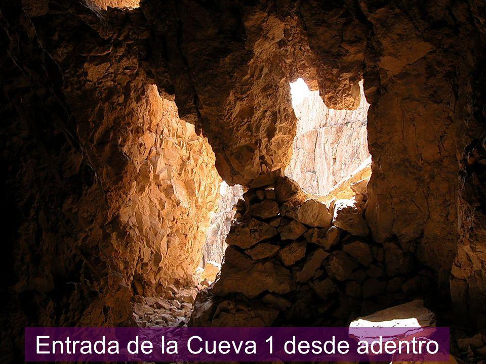 Entrada de la Cueva 1 desde adentro