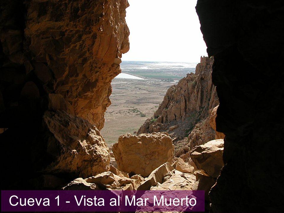 Cueva 1 - Vista al Mar Muerto