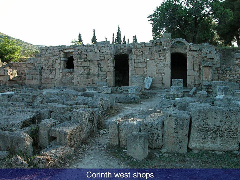 Corinth west shops