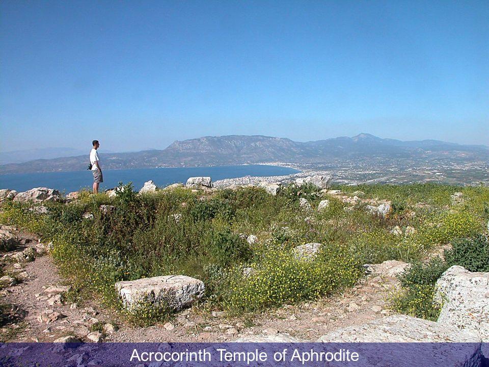 Acrocorinth Temple of Aphrodite