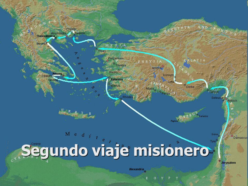 Segundo viaje misionero