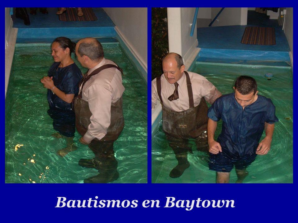 Bautismos en Baytown