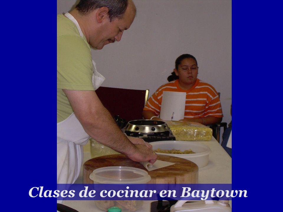Clases de cocinar en Baytown