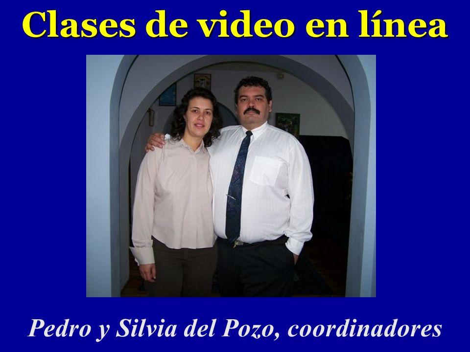 Clases de video en línea Pedro y Silvia del Pozo, coordinadores