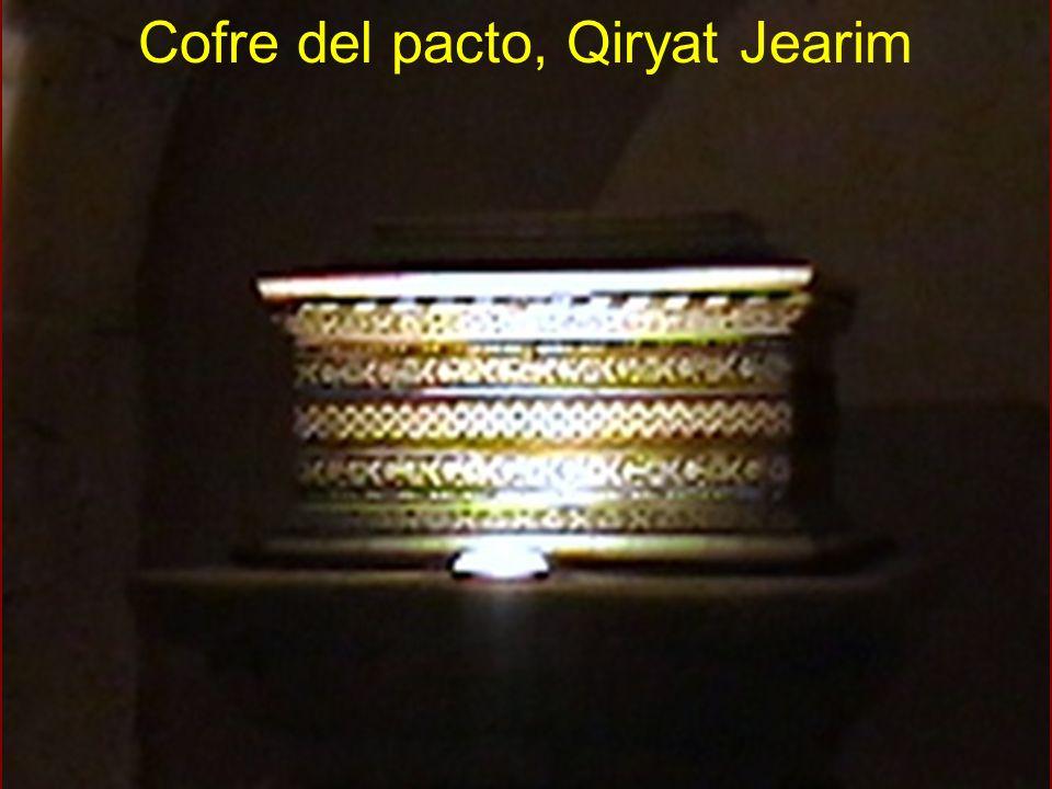 Cofre del pacto, Qiryat Jearim