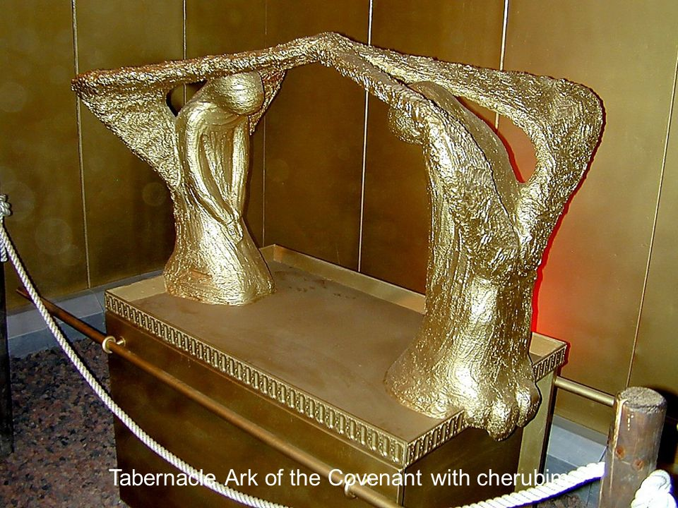 Tabernacle Ark of the Covenant with cherubim