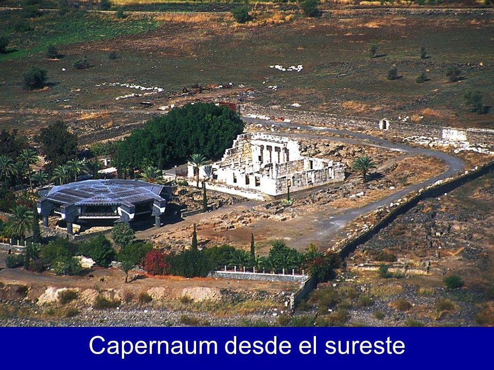 Capernaum desde el agua