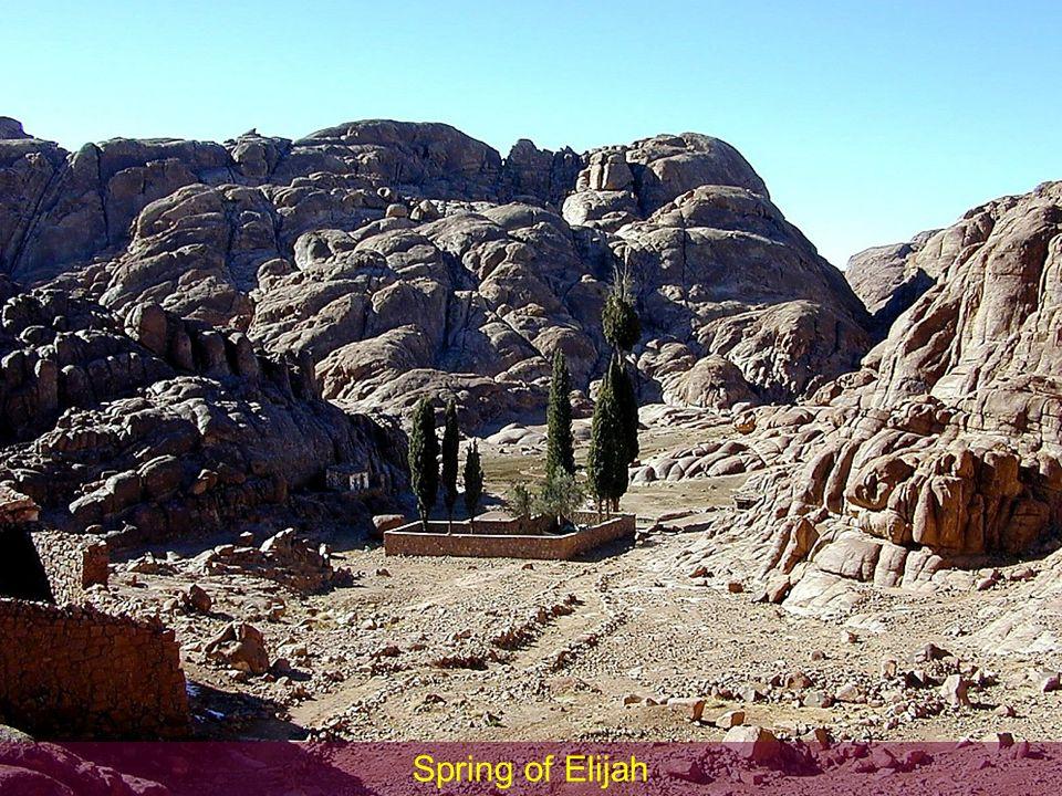 Spring of Elijah