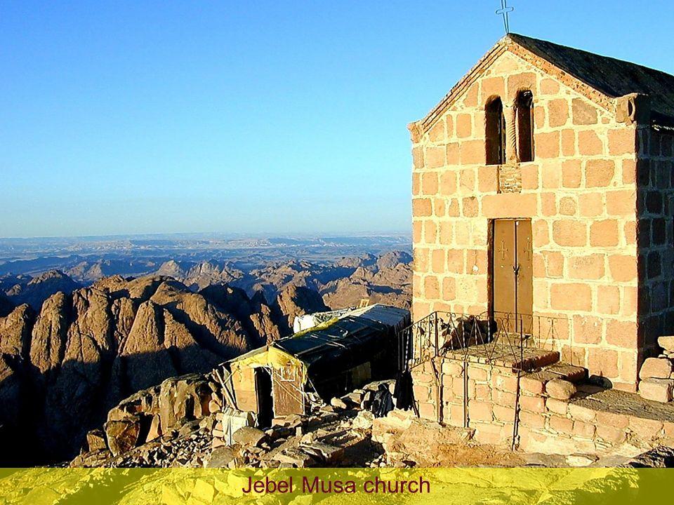 Jebel Musa church