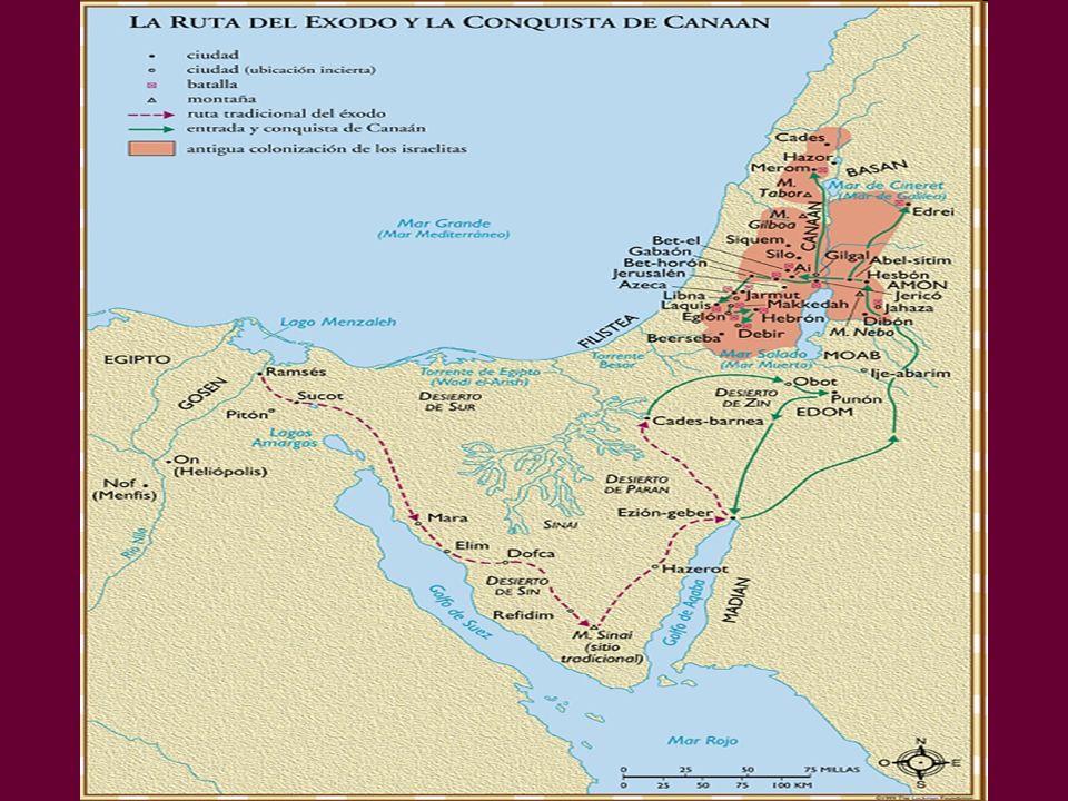 Egypt Nile Delta Delta Great Sea (Mediterranean) Red Sea SinaiPeninsula Canaan Traditional Route of the Exodus NASA Photo © EBibleTeacher.com Quail/Manna Mt.