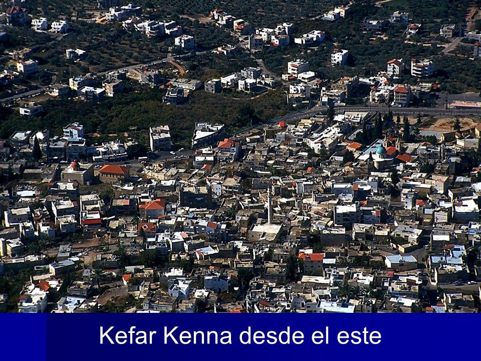 Kefar Kenna desde el este