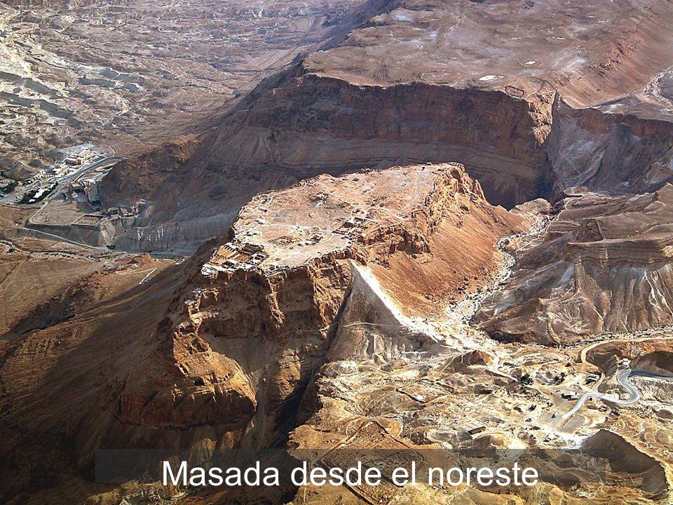 Masada desde el noreste