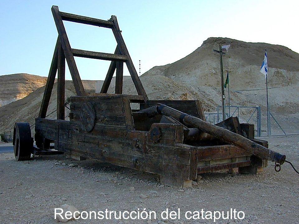 Reconstrucción del catapulto