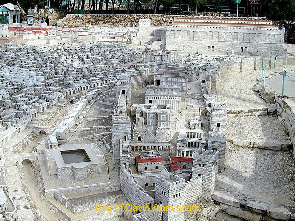 City of David from south