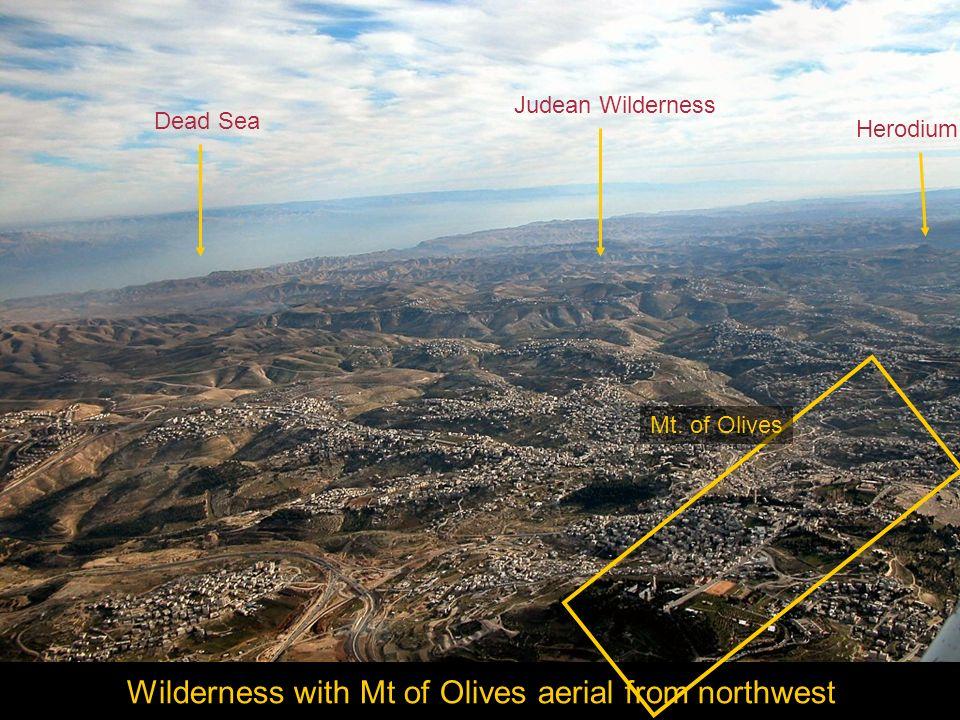 Jerusalem southern area aerial from east Bethlehem Har Homa Rephaim Valley