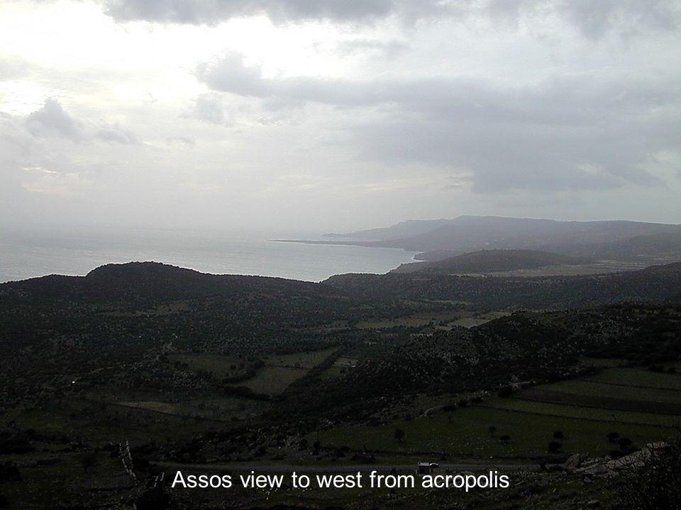 Assos coastline