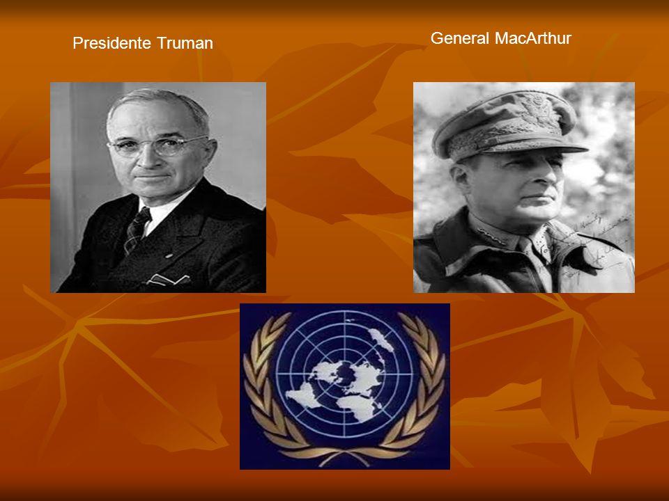 Presidente Truman General MacArthur