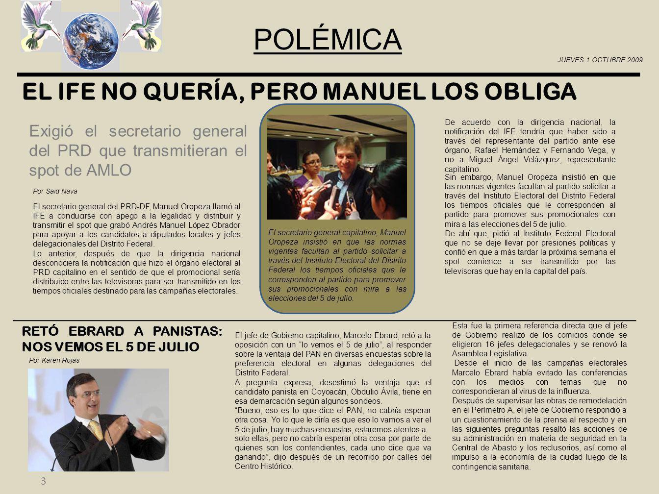 4 EDITORIAL Maite Perroni y Raúl Araiza con el partido Verde.