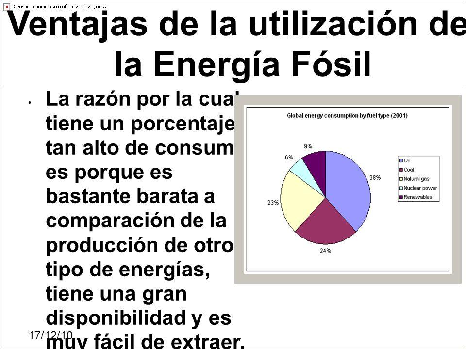 17/12/10 La razón por la cual tiene un porcentaje tan alto de consumo es porque es bastante barata a comparación de la producción de otro tipo de ener